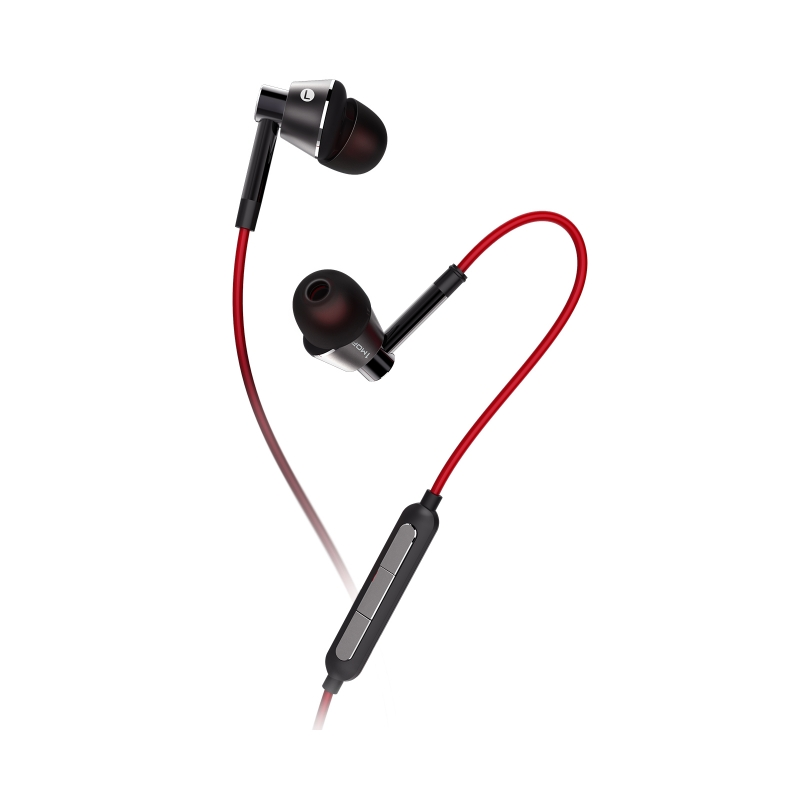 1More Voice of China Piston In-Ear Headphones Black/Red