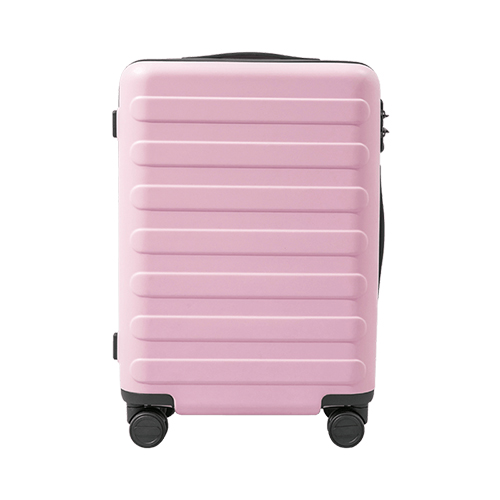 90 GO FUN Rhine-Flower suitcase Pink