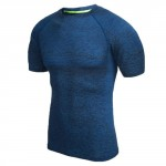 RunMi 90 Points Men`s T-shirt Blue Size M