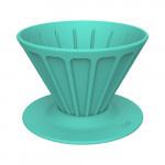 Xiong and Yang Coffee Portable Silicone Filter Cup Green