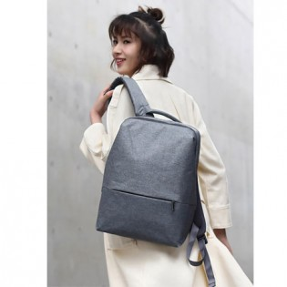RunMi 90 GOFUN Urban Simple Backpack Light Gray
