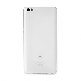 Xiaomi Mi Note Silicone Protective Case Transparent White