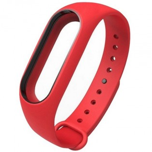 Xiaomi Mi Band 2 Silicone Strap Red/Black