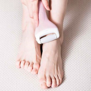 Xiaomi Yueli Electric Foot File And Callus Remover Pink