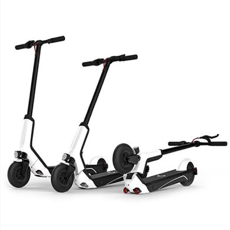 QiCycle EUNi Electric Scooter White