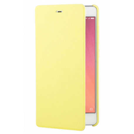 Xiaomi Redmi 3 Leather Flip Case Yellow