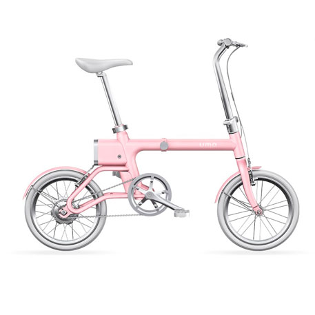 Yunbike UMA Mini Foldable Bicycle Pink
