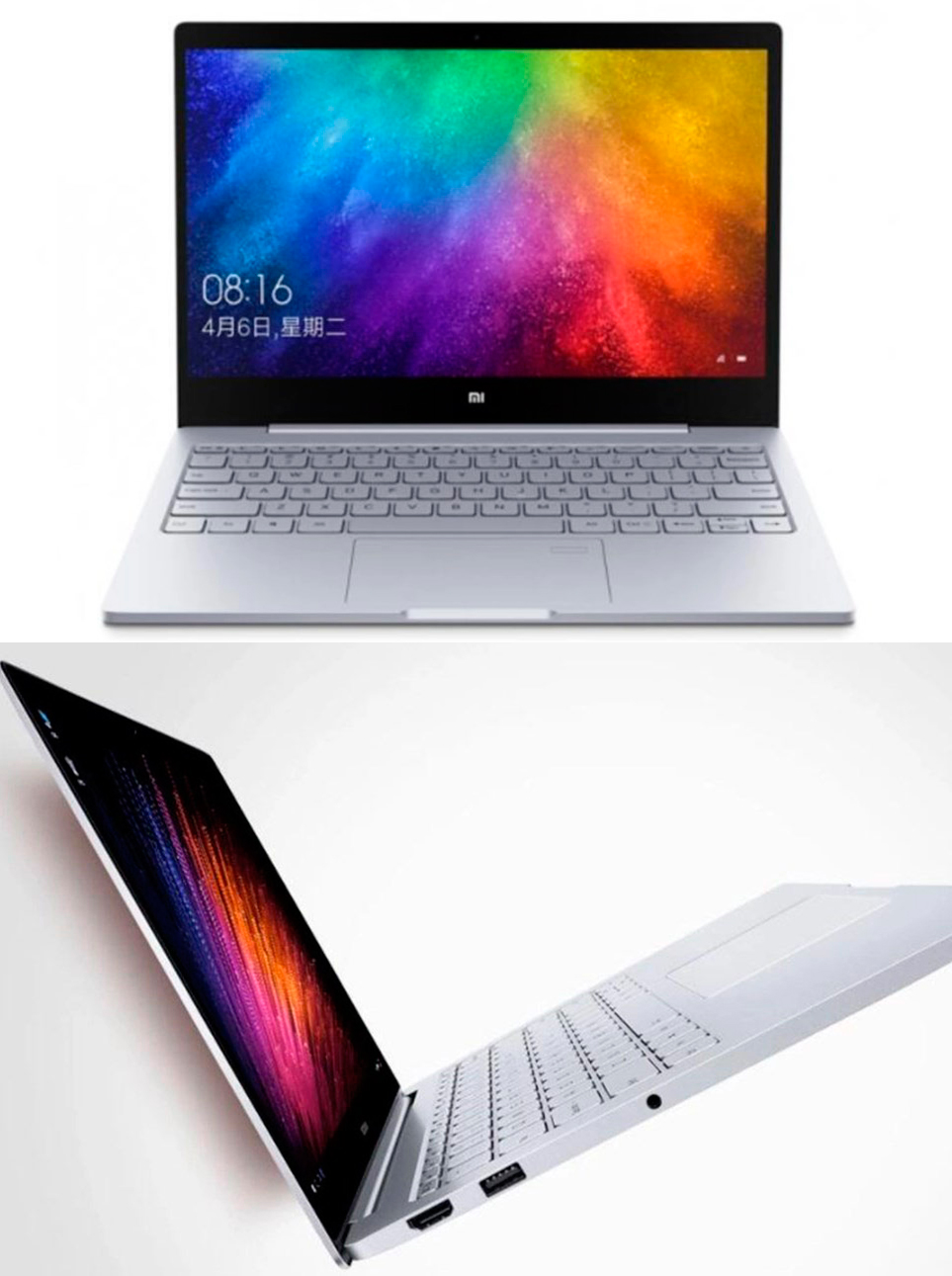 Updated 13 3 Inch Mi Notebook Air Features Fingerprint Sensor